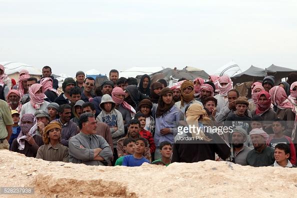 Trong dòng người tị nạn từ Syria sang Jordan có cả những kẻ buôn bán ma túy.