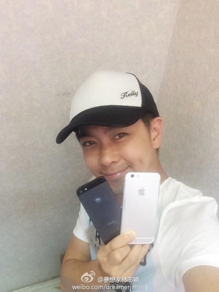"""Lâm Chí Dĩnh tiếp tục """"vô tình"""" làm lộ ảnh iPhone mới - Ảnh 2."""