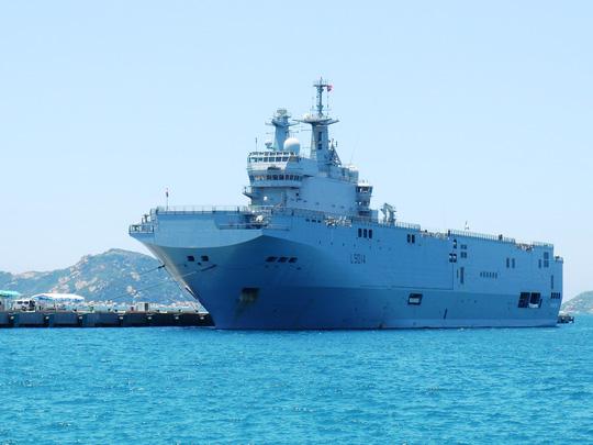 Tàu Tonenerres được cho là tàu lớn thứ 2 của Pháp. (Ảnh: nld.com.vn)