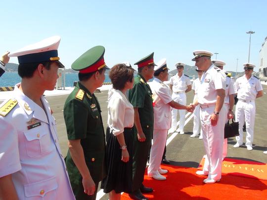 Chuyến thăm của tàu Tonenerres sẽ thắt chặt hơn nữa các mối quan hệ hữu nghị và quốc phòng giữa Pháp và Việt Nam. (Ảnh: nld.com.vn)