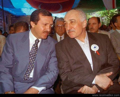 Tổng thống Erdogan và Fethullah Gulen