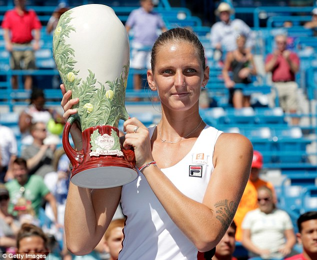 Karolina Pliskova đăng quang xứng đáng tại Cincinnati 2016