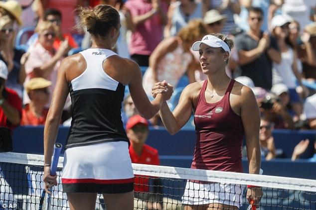 Angelique Kerber đã không thể vượt qua Serena Williams trên BXH WTA