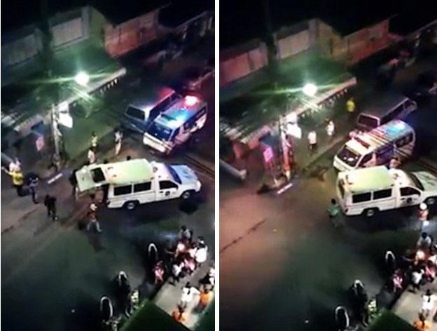 Ngay sau khi vụ nổ bom kép xảy ra, cảnh sát và lực lượng cứu hộ đã nhanh chóng tới hiện trường.