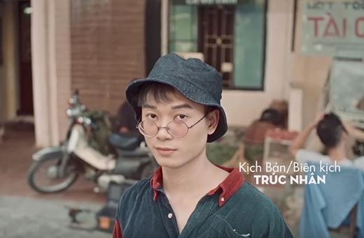 Tạo hình Trúc Nhân trong MV Thật bất ngờ.