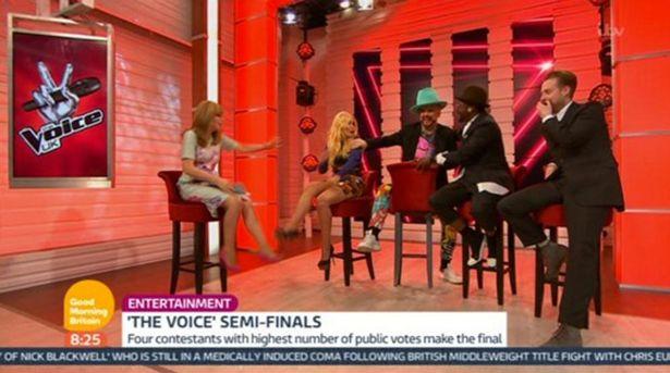 Dàn giám khảo The Voice Anh 2016 chia sẻ về hậu trường chương trình trong Good Morning Britain