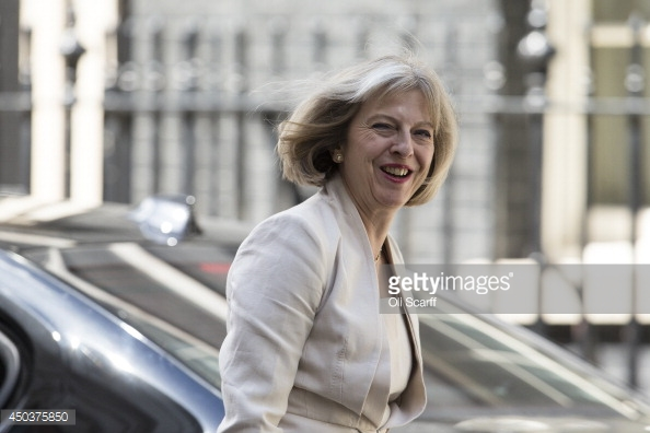 Bộ trưởng Nội vụ Theresa May