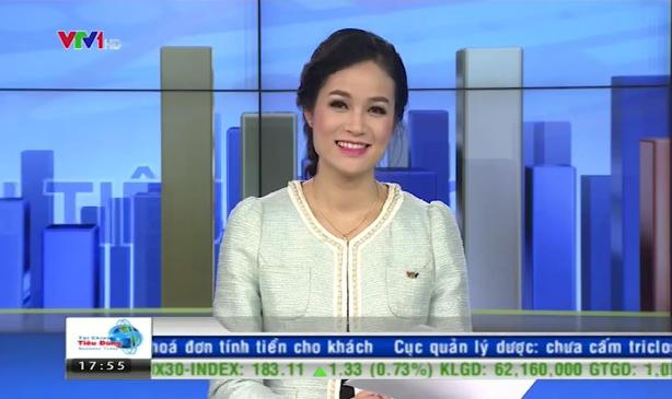 Thu Hương là gương mặt khá quen thuộc với khán giả truyền hình khi dẫn dắt Bản tin Tài chính, Chuyển động 24h.