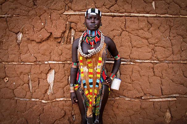 Cô dâu Hamar (tộc người ở Ethiopia)