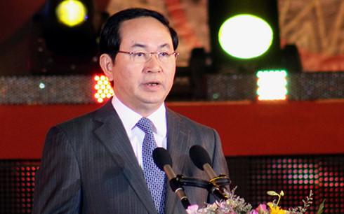 Ông Trần Đại Quang được đề cử để Quốc hội bầu Chủ tịch nước