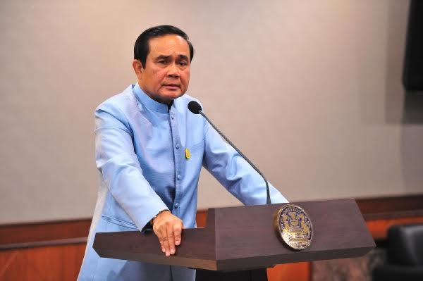 Thủ tướng Thái Lan Prayut Chan-ocha lên tiếng trấn an người dân sau loạt đánh bom tại 5 tỉnh nước này (Ảnh: Pattayamail)
