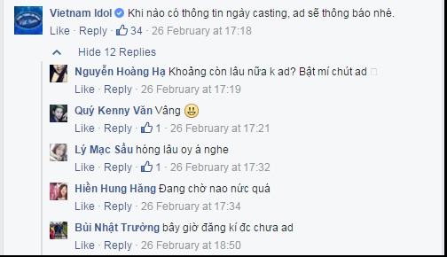Khán giả háo hức chờ đón Vietnam Idol 2016.