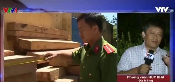 Phóng viên Huy Kha - người đã tham gia tiếp cận hiện trường và thực hiện các phóng sự điều tra về vụ việc.