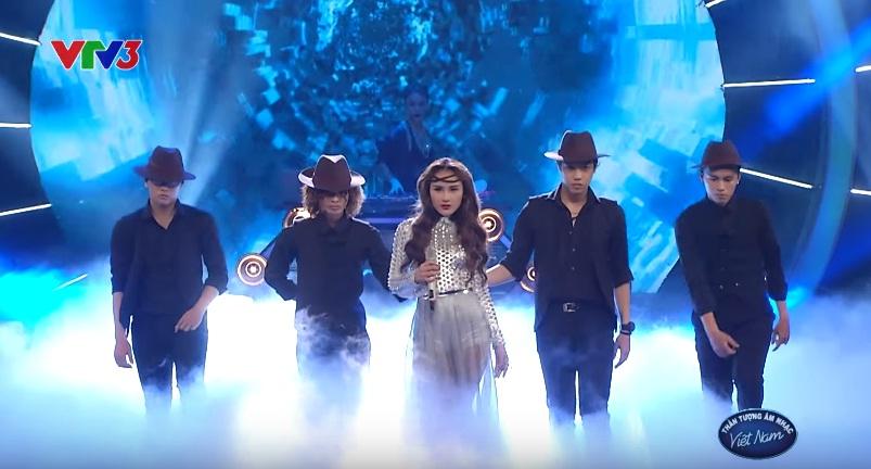 Thanh Huyền trong đêm Gala 3
