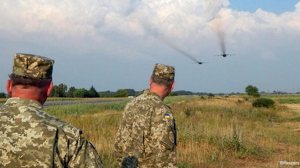 Trước những căng thẳng với Nga, Ukraine đang đặt quân đội trong tình trạng sẵn sàng chiến đấu cao nhất