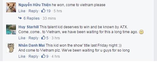 Các fan Việt háo hức trước lời hứa hẹn của ban nhạc.