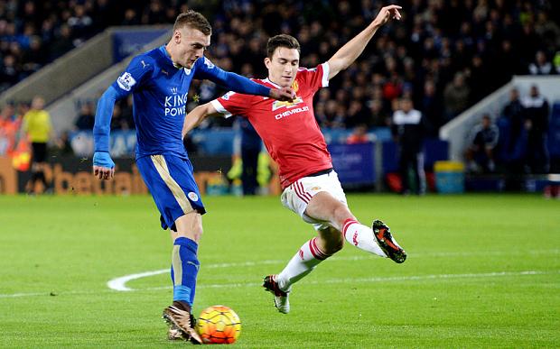 Vắng Vardy, Leicester City sẽ phải tìm phương án khác để đánh bại Man Utd (Ảnh: Telegraph)