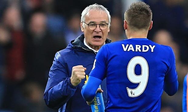 HLV Ranieri hi vọng sẽ giữ Vardy ở lại trong mùa giải tới