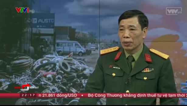Đại tá Hoàng Minh Hồng - Phó giám đốc Trung tâm Hành động khắc phục bom mìn Việt Nam.