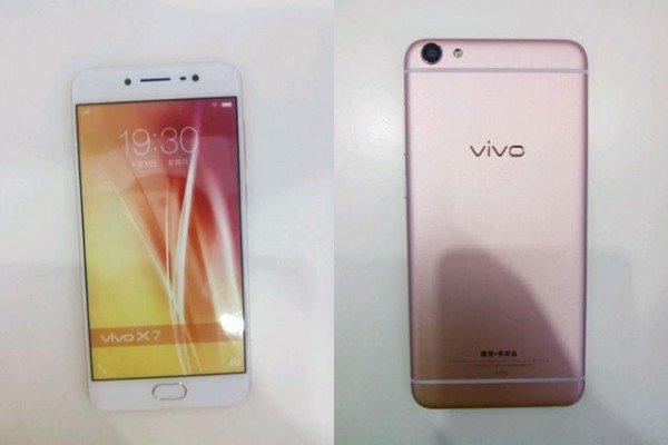Hình ảnh thực tế của Vivo X7 Plus rò rỉ hôm 24/6