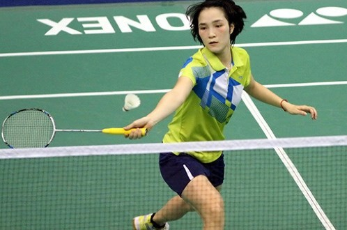 Vũ Thị Trang toàn thắng cả 2 nội dung ở giải cầu lông Ciputra Hà Nội 2016.