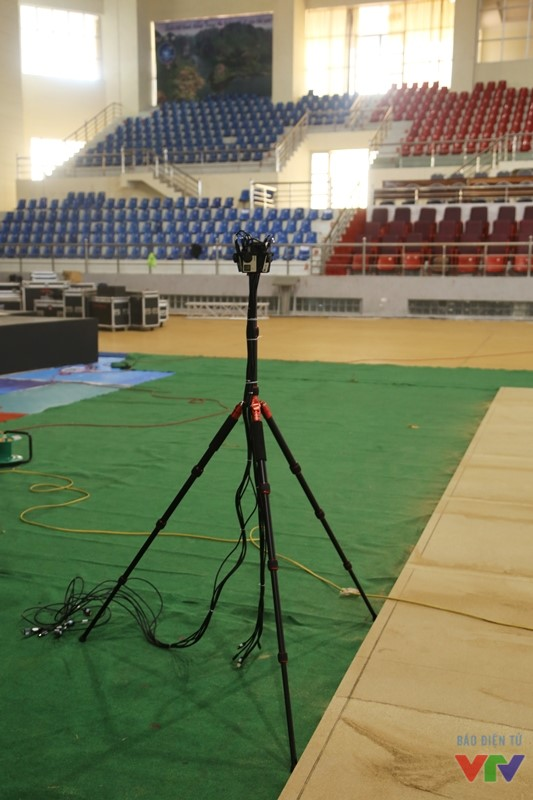 Chân của Camera được sử dụng trong các trận thi đấu chung kết