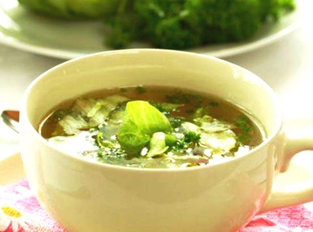 Soup bắp cải là món ăn tốt cho người muốn giảm cân.