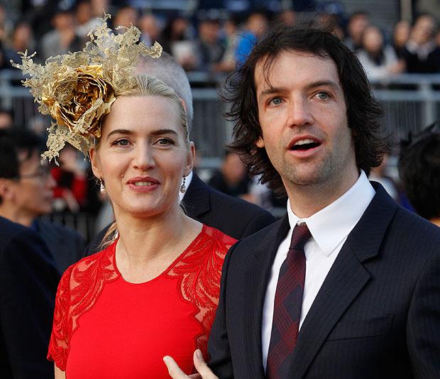 Kate Winslet và người chồng thứ ba Ned Rocknroll.
