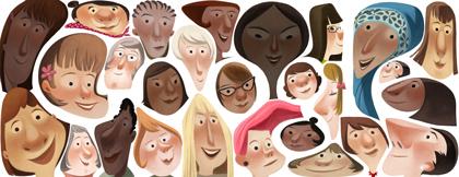 Doodle kỷ niệm ngày Quốc tế Phụ nữ năm 2013 của Google