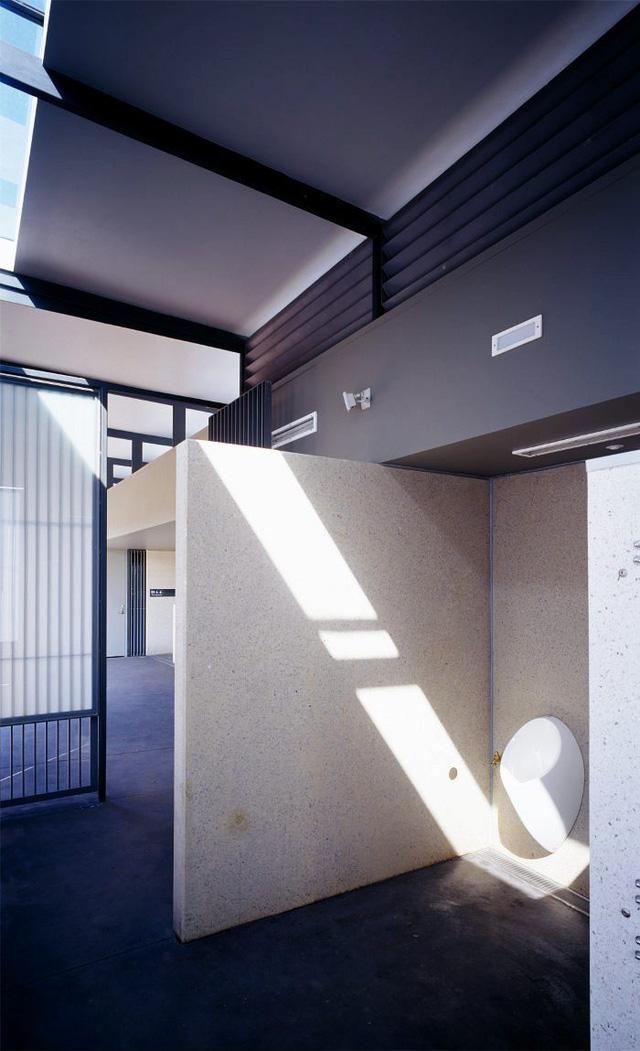 Nhà vệ sinh công cộng ở Sydney, Australia. Thiết kế: Lahz Nimmo Architects.