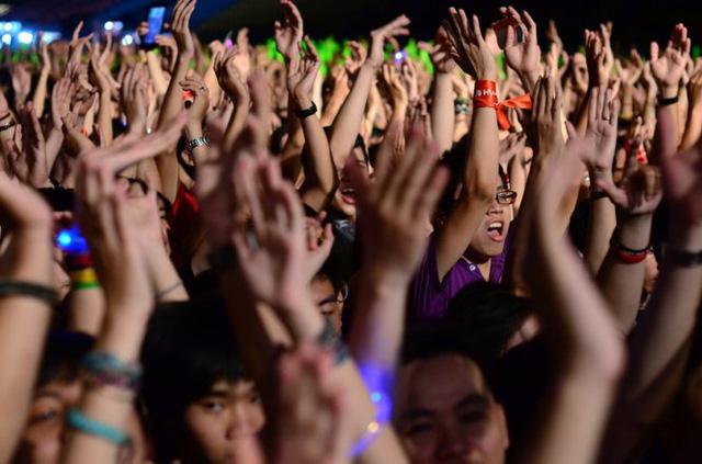 Khán giả cuồng nhiệt