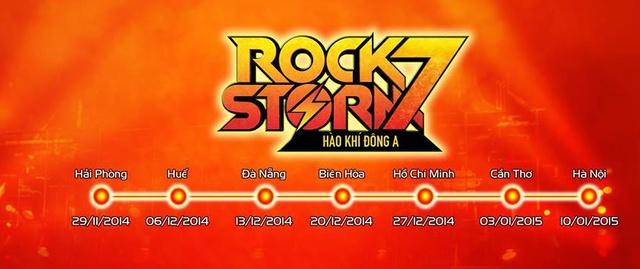 Lịch trình của RockStorm7
