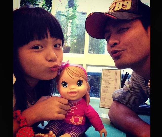 MC Phan Anh và con gái Bảo Anh