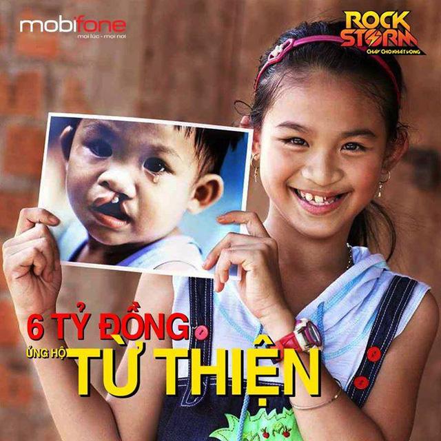 Trong 3 năm liền, RockStorm đã ủng hộ được gần 6 tỷ đồng từ thiện