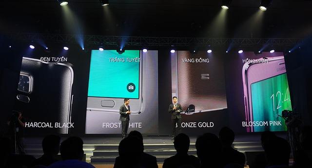 Galaxy Note 4 có 4 phiên bản màu sắc khác nhau