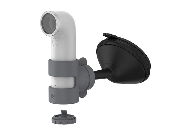 Các phụ kiện đi kèm với HTC RE Camera