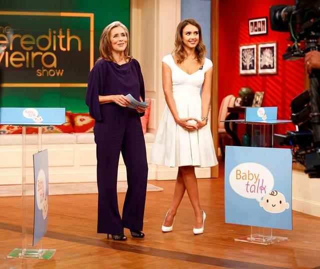 Jessica Alba xuất hiện trên chương trình Meredith Vieira Show