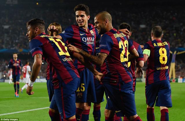 Tại sào huyệt của mình, Barcelona vẫn tỏ ra vô cùng lợi hại.