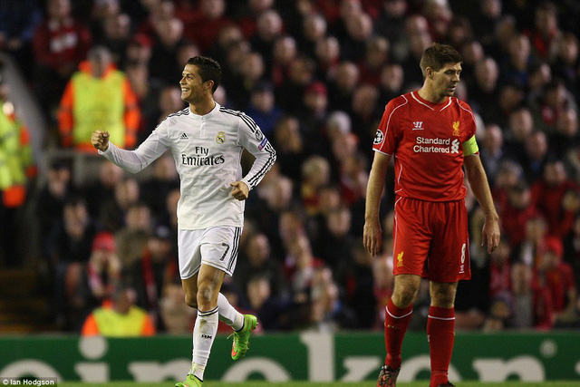 Real Madrid và Liverpool đang có những sự chênh lệch đẳng cấp.