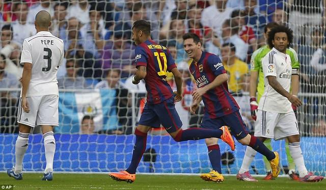 Barcelona đã có một hiệp 1 chơi khá tốt.