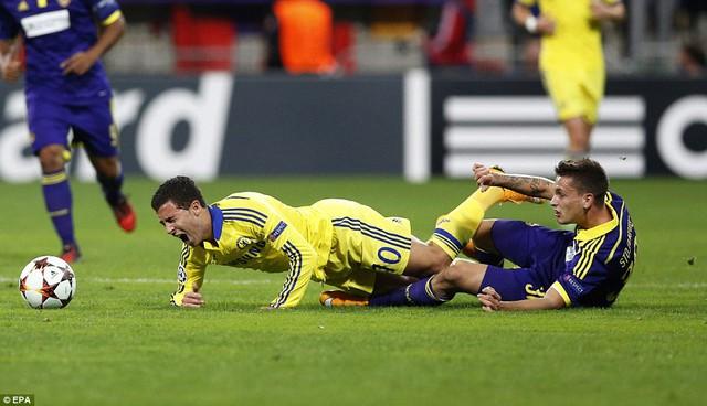 Với Mourinho, Eden Hazard đang là một trong những cầu thủ tốt nhất mà ông có trong tay.