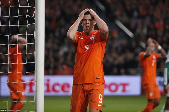 Đội tuyển Hà Lan đã thua 4 trong 5 trận gần đây