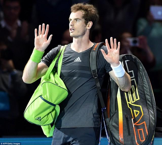Andy Murray vừa trải qua một trận đấu kém cỏi nhất trong sự nghiệp