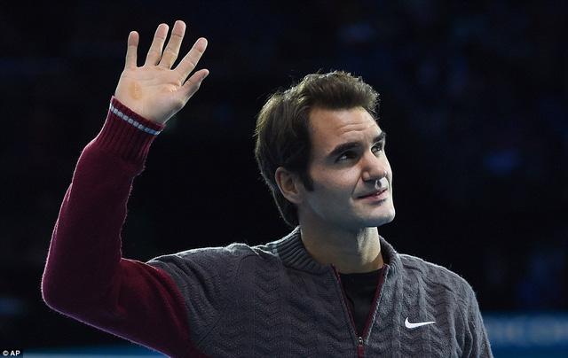 Tạm biệt mùa giải 2014, Federer hứa hẹn sẽ trở lại mạnh mẽ hơn