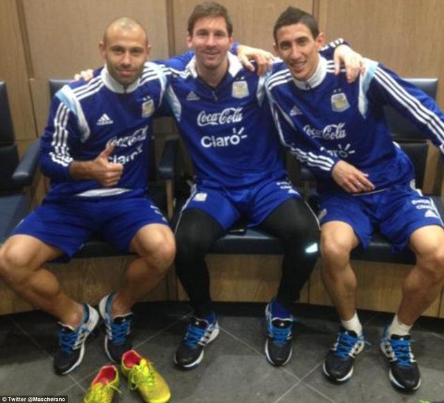 Tuy nhiên, vấn đề của Messi có vẻ không quá nghiêm trọng.