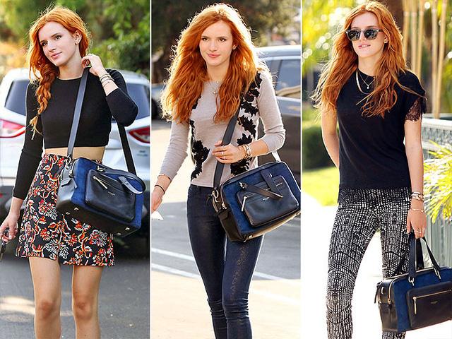 Bella Thorne với chiếc túi yêu thích Mercer Camera