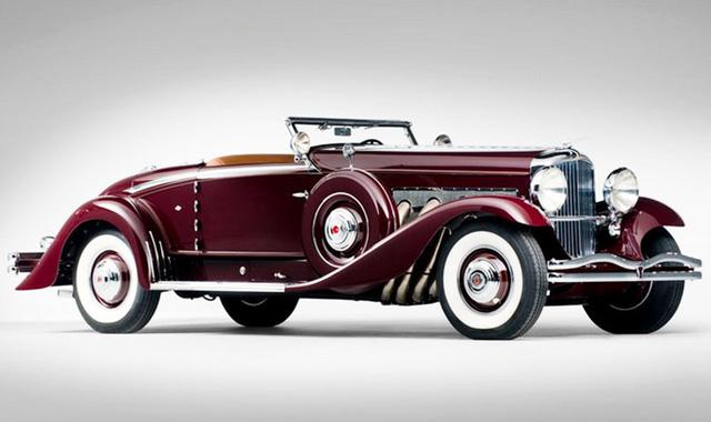 Duesenberg Model SJ Convertible Coupe 1935