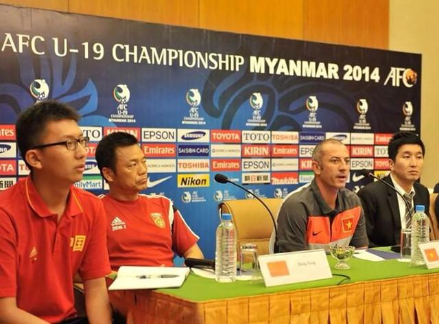 HLV U19 Trung Quốc đánh giá thấp U19 Việt Nam