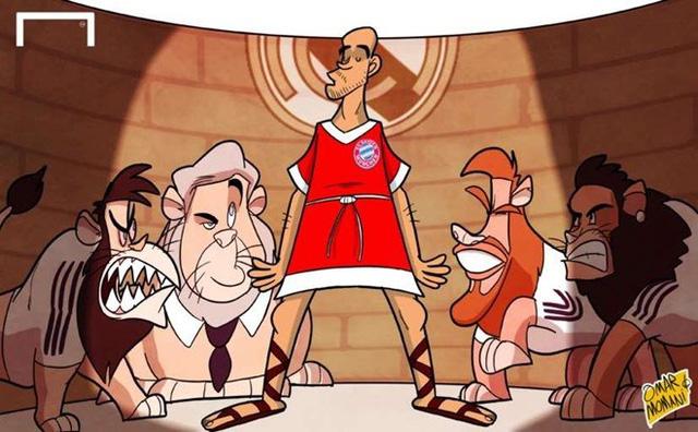 Pep Guardiola đã đưa Bayern vào đến bán kết Champions League nhưng Hùm xám Bavaria đã không thể đánh bại Real để có mặt trong trận chung kết tại Lisbon