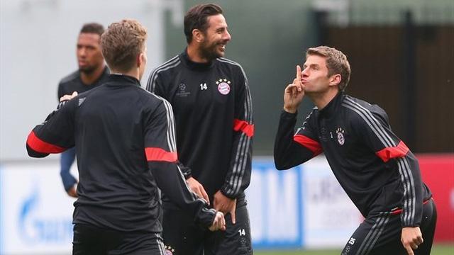 Các cầu thủ Bayern Munich dường như đang rất tự tin hướng tới chiến thắng thứ hai khi chỉ phải đụng độ CSKA Moscow - đối thủ bị đánh giá là yếu nhất bảng.